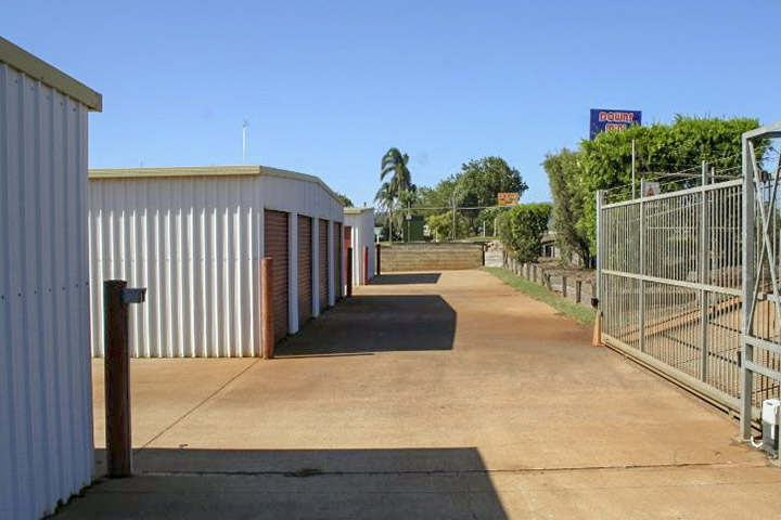 Entrance to Downs Mini Storage